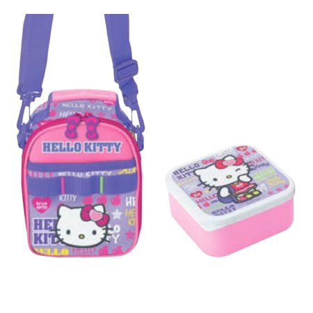 Hello Kitty Lunch Bag & Container: Sport