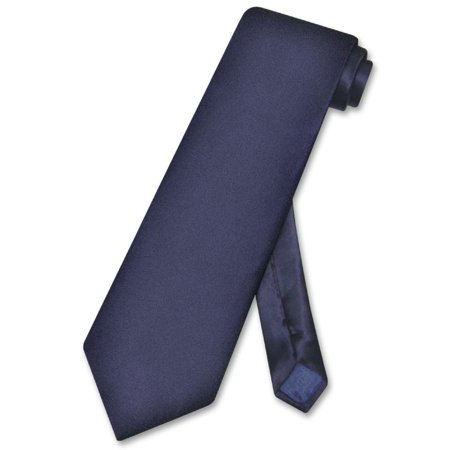 Biagio 100% SILK NeckTie Solid NAVY BLUE Color Men's Neck Tie Brooks Brothers Silk Tie