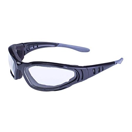 Global Vision Eyewear Ultra Anti-Fog Sunglasses, Clear Lens (Global Vision Eyewear)