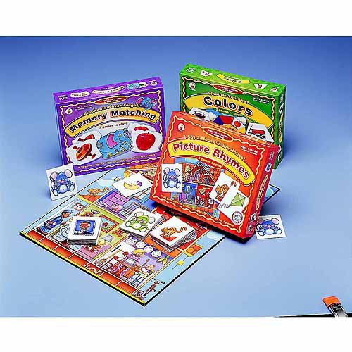 Childcraft Preschool Language Games , Set of 3 by Generic