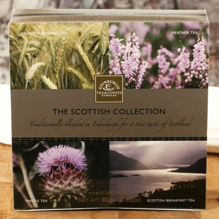 Hybrid Tea Collection - Scottish Tea Collection by Edinburgh Tea and Coffee Co. (3.53 ounce)