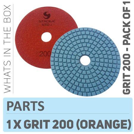 Granite Top Insert - Stadea PPW105D Diamond Polishing Pads 4