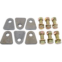 JEGS 70042 Safety Harness Mounting Tab & Bolt Kit Includes: