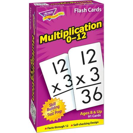 Trend Enterprises Math Flash Cards Ages 8 & - Math Practice Flash Cards
