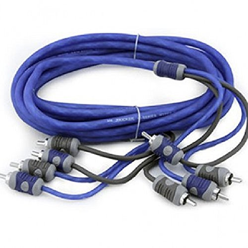 Kicker K-Series 4-Channel RCA Interconnect Cable, 4m