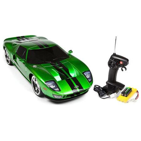 1:10 Licensed Ready to Run Green Ford GT Electric Remote ...