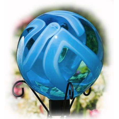 EARTH GLOBE Gazing Ball by Evergreen