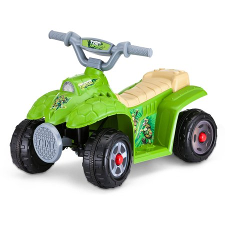 Teenage Mutant Ninja Turtles 6 volt Quad Ride-on Toy by Kid Trax Only $29