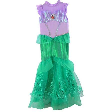 Disney Princess Prestige Child Costume In Ariel, (Storybook Ariel Prestige Kids' Costumes)