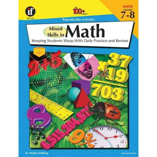 Mixed Skills in Math Grade 7-8: Keeping Students Sharp With Daily Practice and Review