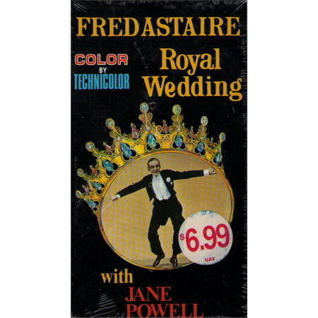 - Royal Wedding (1951) Vintage VHS Tape - (Fred Astaire)