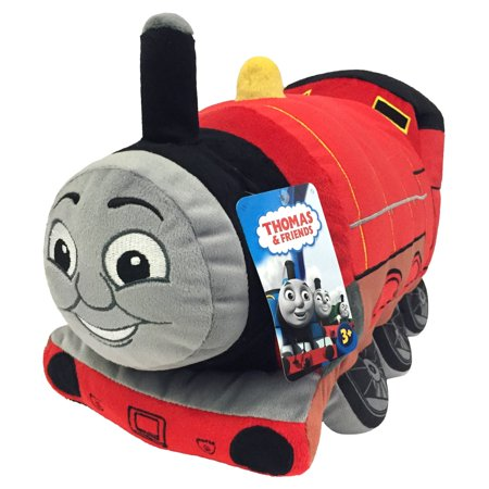 Thomas The Tank Engine James Pillow Buddy by (Mattel Plush)