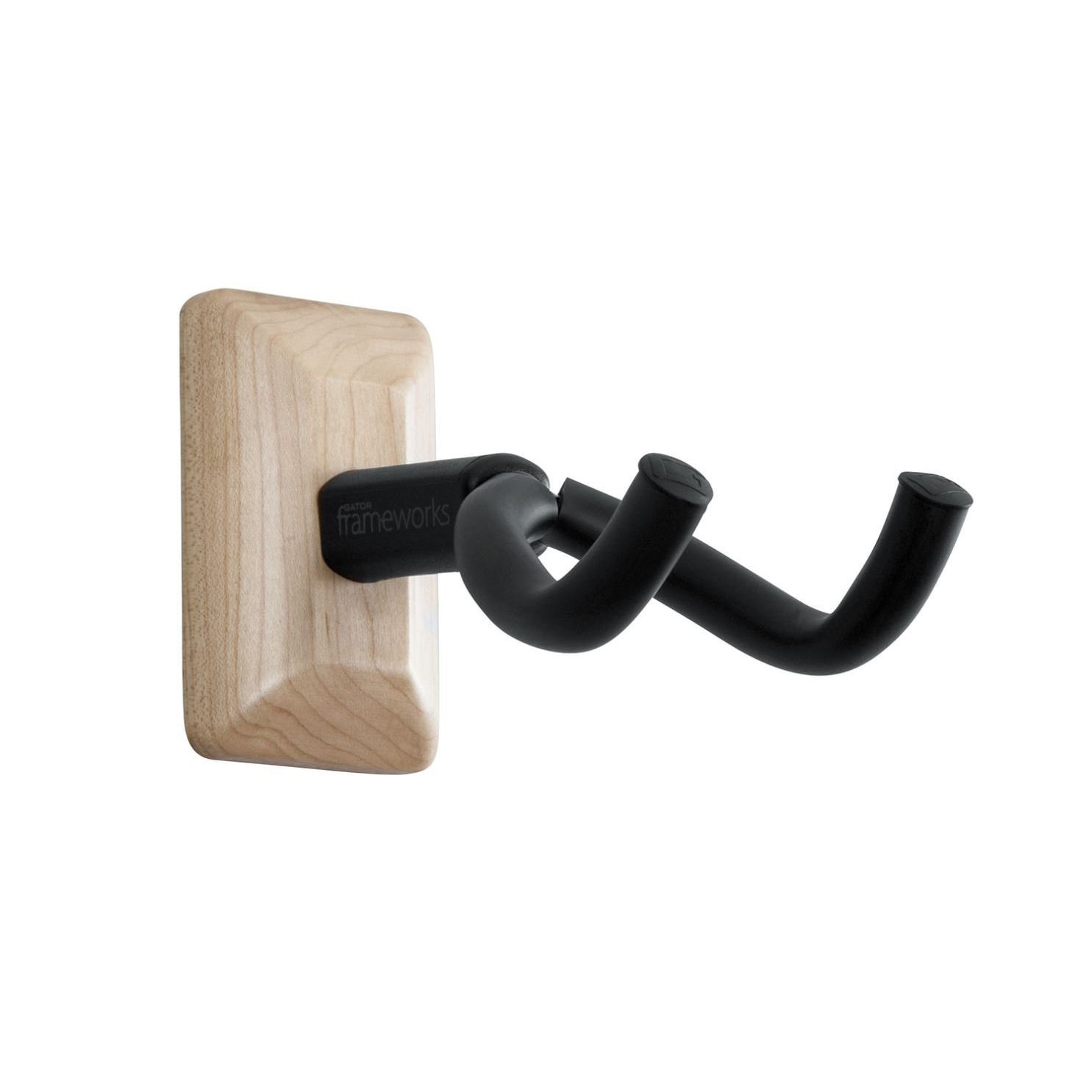 Gator GFW-GTR-HNGRMPL Frameworks Wall Mounted Guitar Hanger Maple by Gator