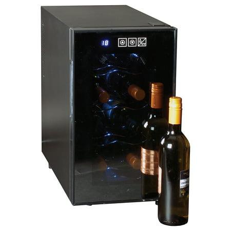 Koolatron 8 Bottle Single Zone Countertop Wine Cooler WC08, (Top 10 Best Fridges)