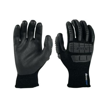 Mad Grip 0MG15F5-BLK-M Thunderdome Thermal Impact Gloves, Black, Nylon, Medium