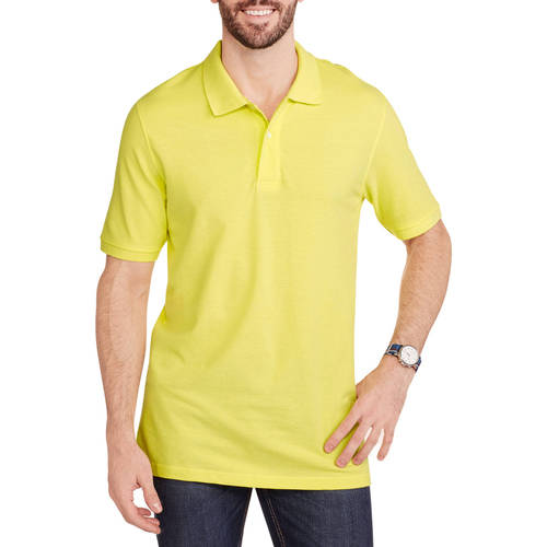 Faded Glory Men's Short Sleeve Polo