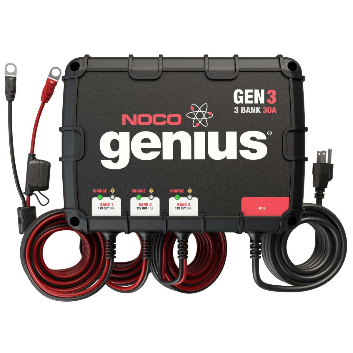 NOCO GEN3 30a 3-bank Onboard Battery Charger