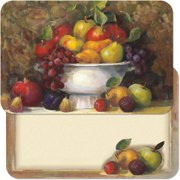 "Corelle CounterArt 11"" x 17"" Fruit Bowl Reversible Placemat"