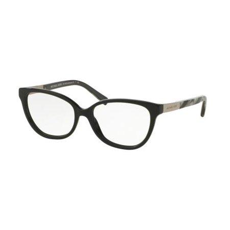 ef13d6166965 MICHAEL KORS Eyeglasses MK4029 ADELAIDE III 3120 Black Metallic Black  Marble 51MM - Walmart.com
