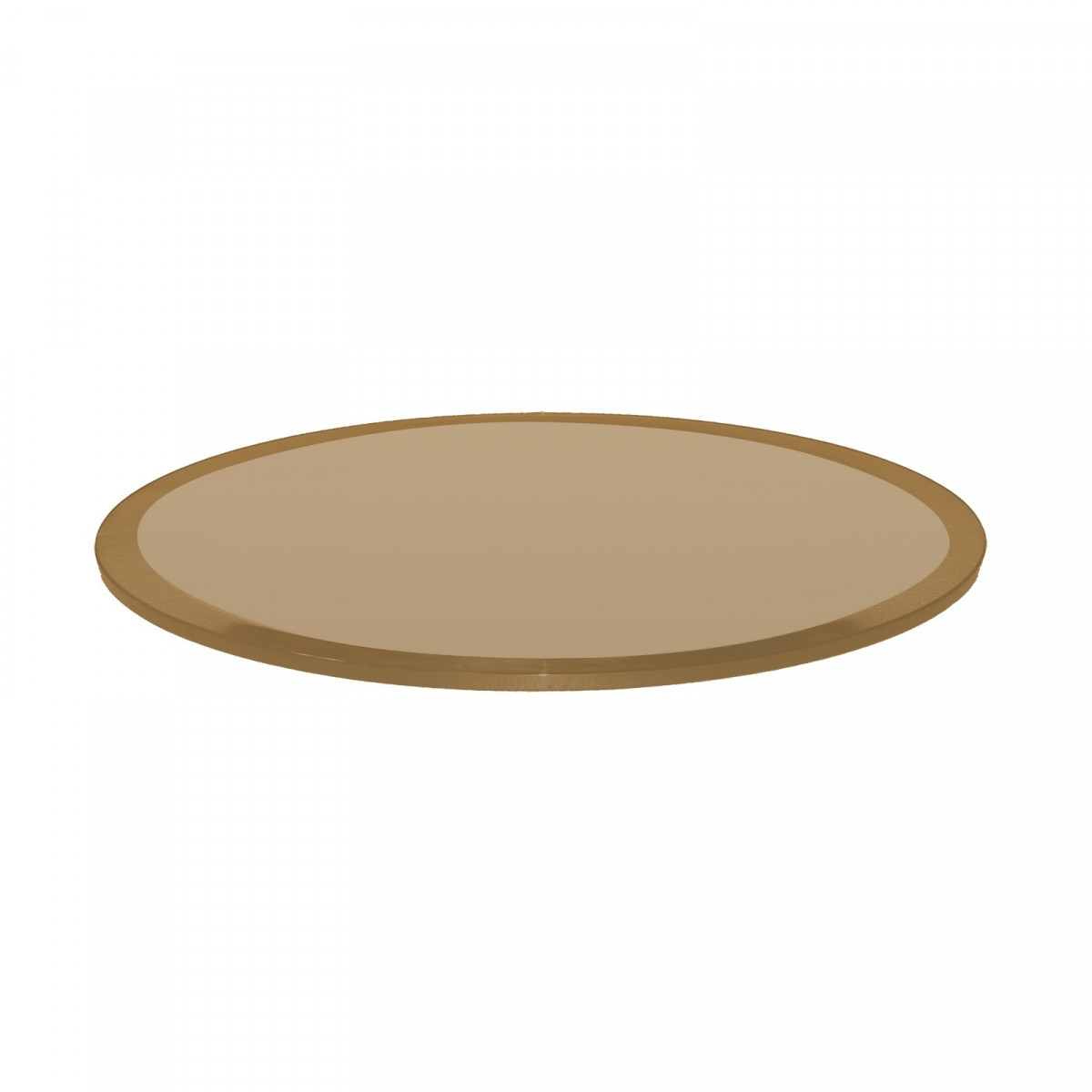 12 Inch Round Glass Table Top 1//2 Thick Tempered Beveled Edge by Fab Glass and Mirror
