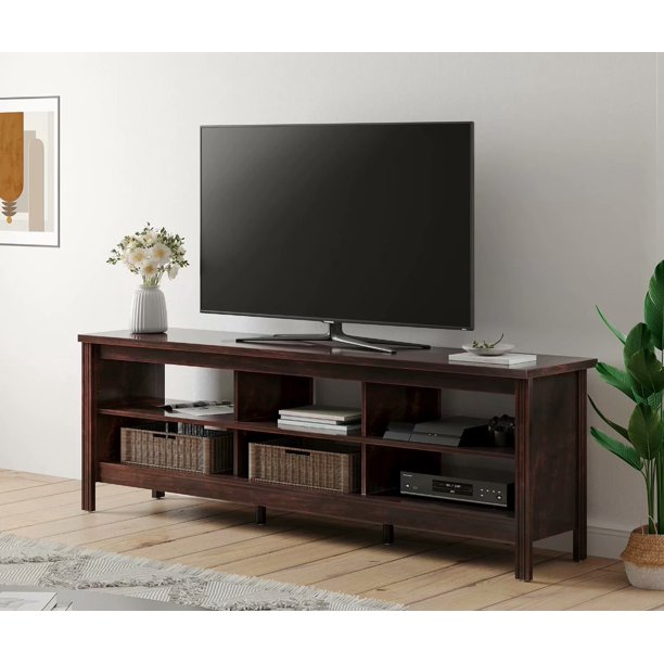 Farmhouse Tv Stand For 75 Inch Flat, Entertainment Armoire For Flat Screen Tv