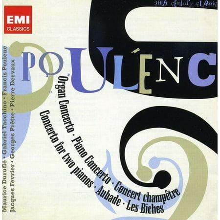 POULENC: CONCERTOS; BALLETS (Poulenc Organ Concerto)