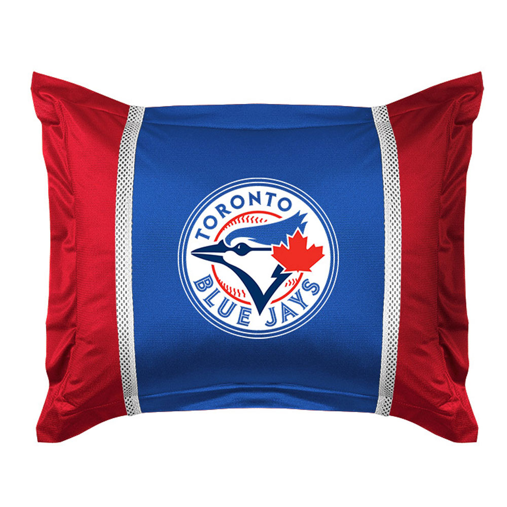 MLB Toronto Blue Jays Pillow Sham Baseball Team Logo Bedding Pillow Cover