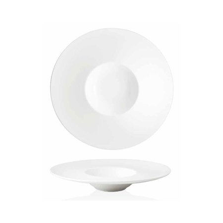 Front Of The House DBO053WHP22 Monaco 7 Ounce White Bowl - 6 / (6 Ounce Sauce Bowl)
