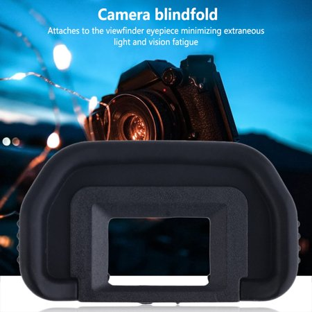 Easy-life Black Rubber Eyecup Eyepiece EB for Canon EOS 10D 20D 30D 40D 50D 60D 550D - image 1 of 5