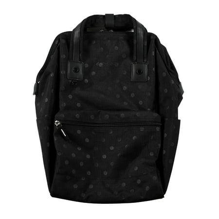 Heritage Polka Dot Printed Laptop Backpack