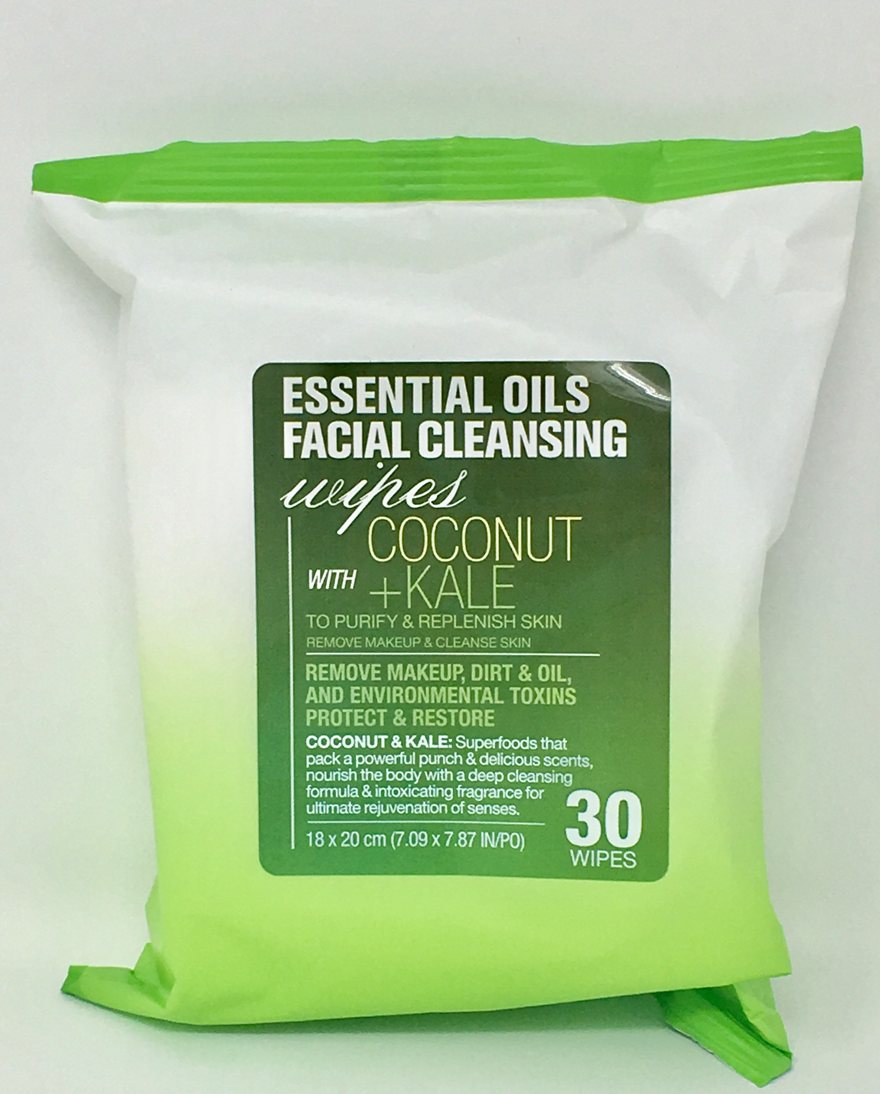 Wipe remove makeup Essential Oils Facial Cleansing coconut with Kale 30 wipe one pack Aveeno Positively Radiant Intensive Night Cream With Vitamin B3, 1.7 Oz