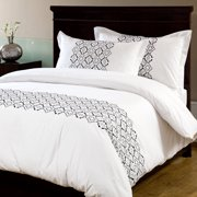 Textrade International Ltd Turin 3 Piece Duvet Set