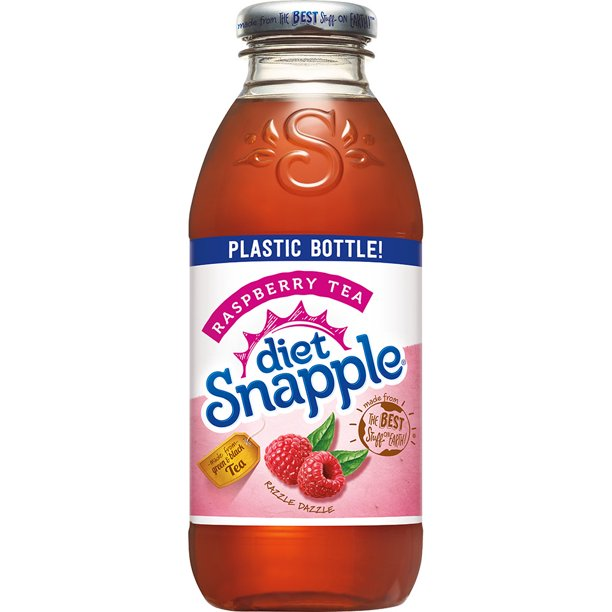 how much sugar is in diet raspberry snapple