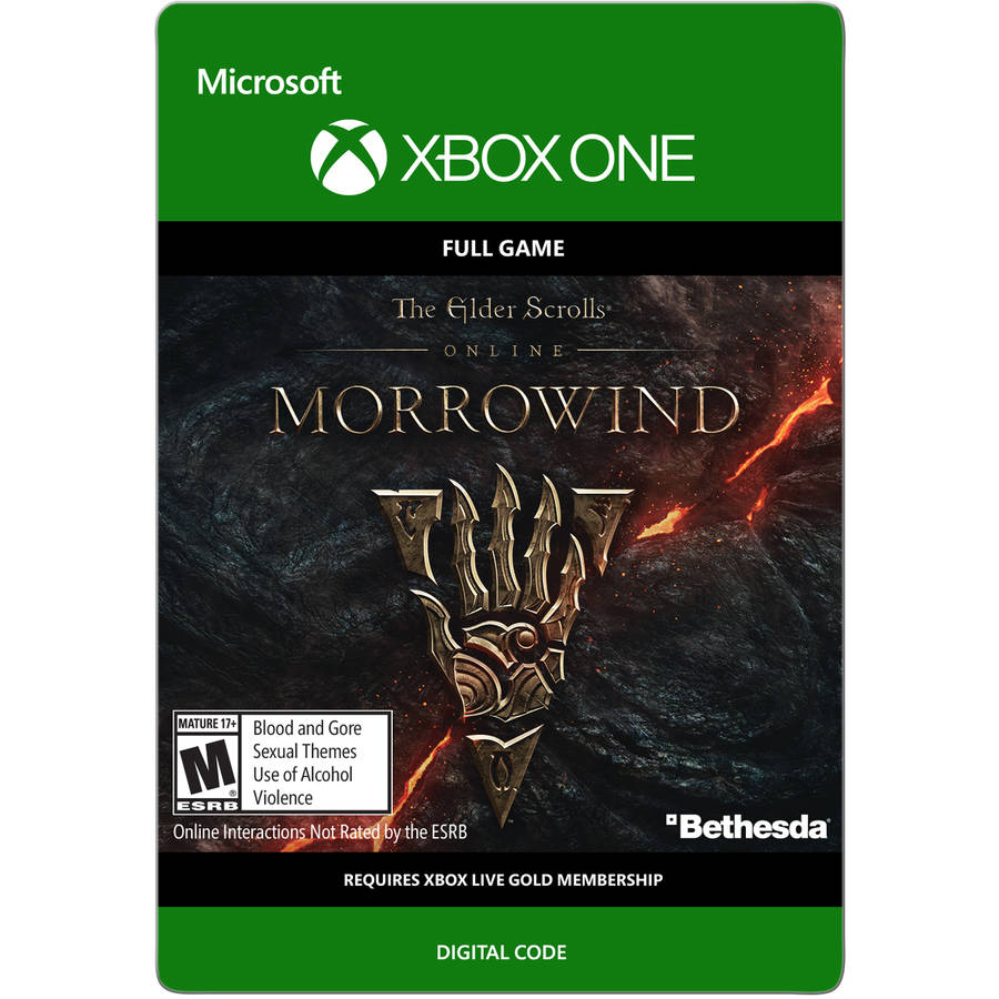 Xbox One Elder Scrolls Online: Morrowind (email delivery)