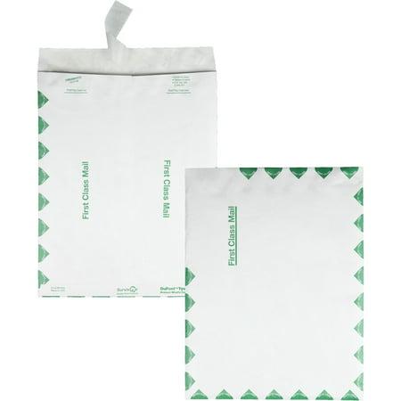 Quality Park, QUAR1590, Survivor Tyvek First Class Envelopes, 100 / Box, White ()