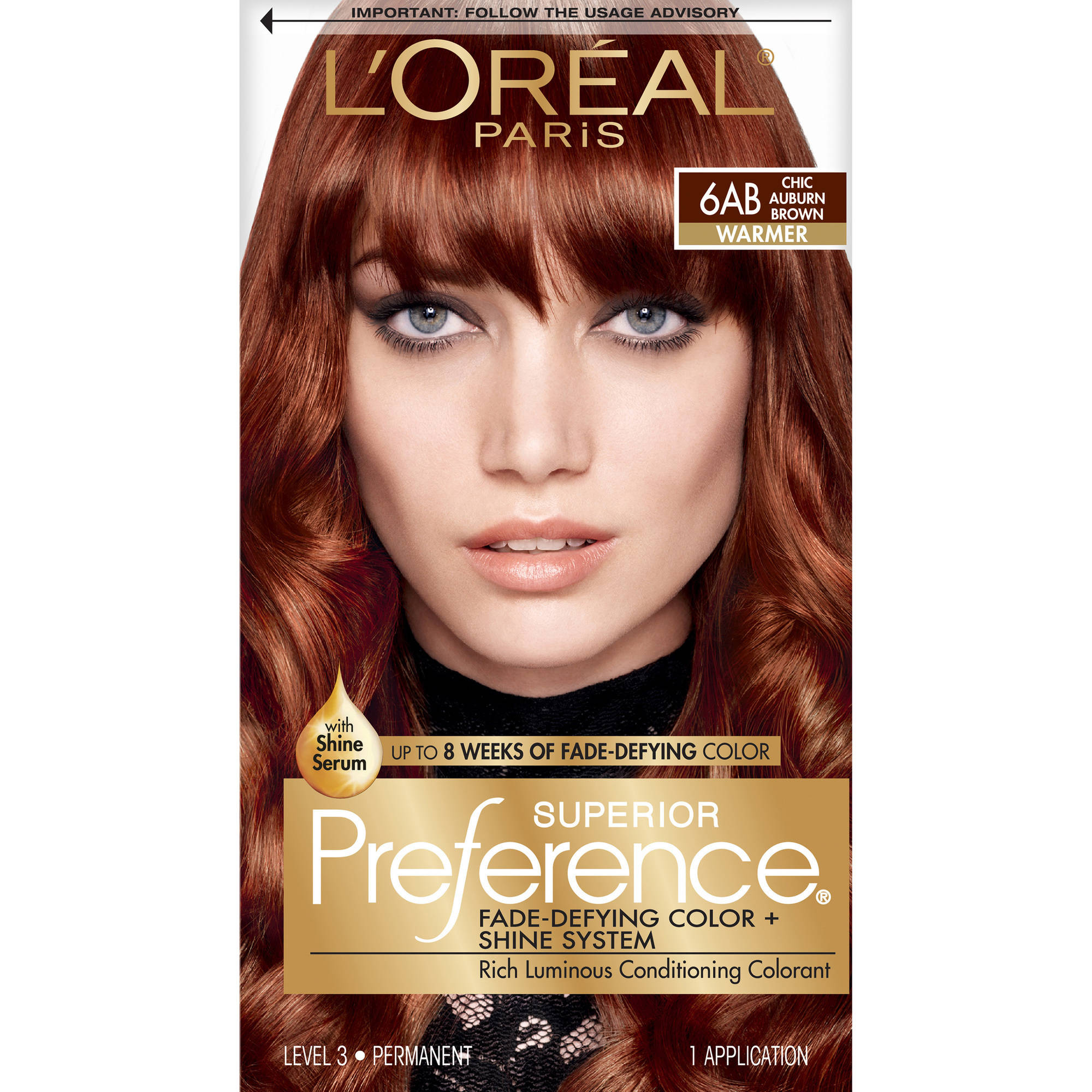 L Oreal Paris Superior Preference Hair Color Kit 6ab Chic