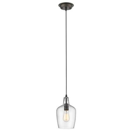 - CHLOE Lighting ELLIE Transitional 1 Light Rubbed Bronze Ceiling Mini Pendant 7