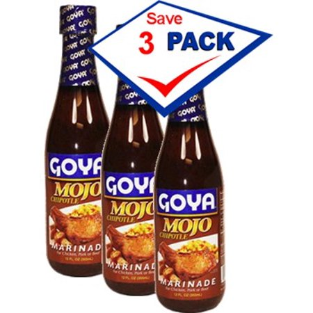 Goya Mojo with Chipotle 12 oz Pack of 3