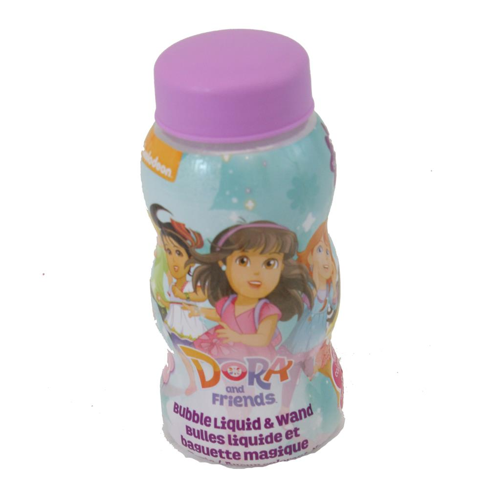 Little Kids Dora and Friends Bubble Liquid and Wand by Little Kids