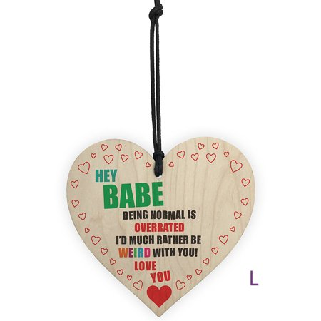 Wooden Hanging Gift Plaque Pendant Family Friendship Love Sign Wine Tags  Decor