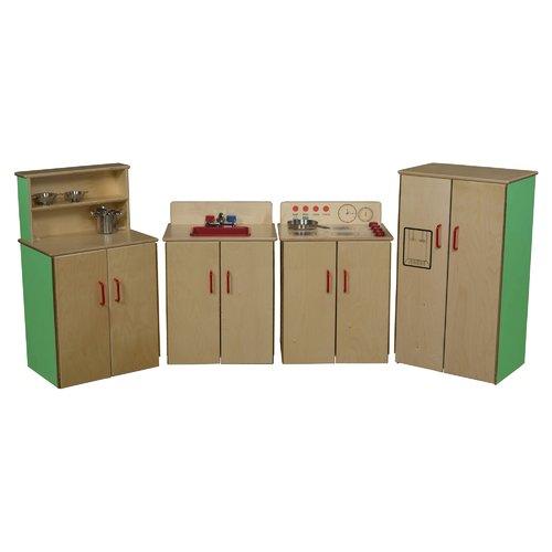 Wood Designs 4 Piece Classic Appliance Set
