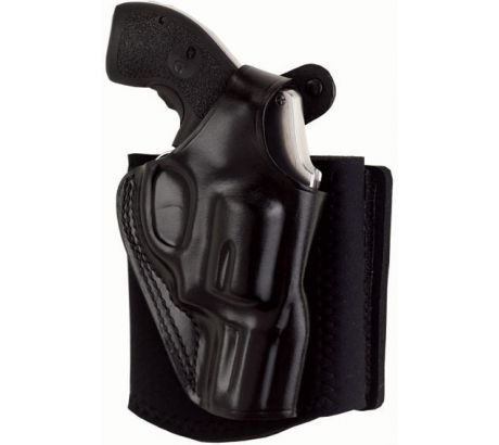 Galco Ankle Glove   Ankle Holster Left Hand, Black, Thumb Break Retention Stra by Galco