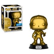 Funko POP Star Wars: Rey (Gold Metallic) - Walmart Exclusive