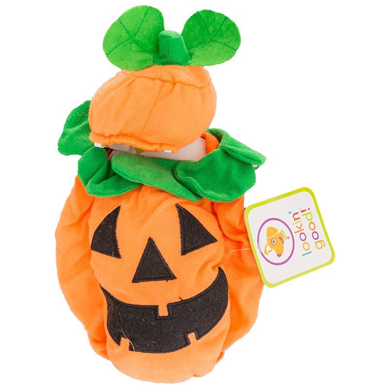 "Lookin' Good Pumpkin Dog Costume Medium - (Fits 14""-19"" Neck to Tail)"