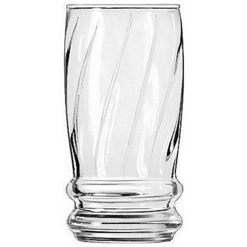 "Libbey DuraTuff Heat Treated Beverage Glass, 12 oz., 2.75"" Top Diameter x 2.625"" Bottom Diameter x 5.375"" Height 