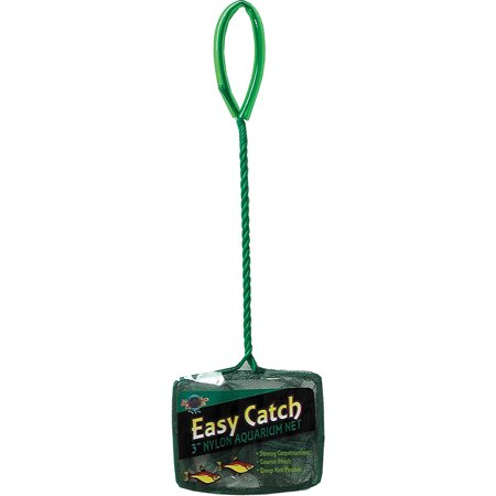 Blue Ribbon Pet Products-Easy Catch Coarse Mesh Fish Net- Green 3