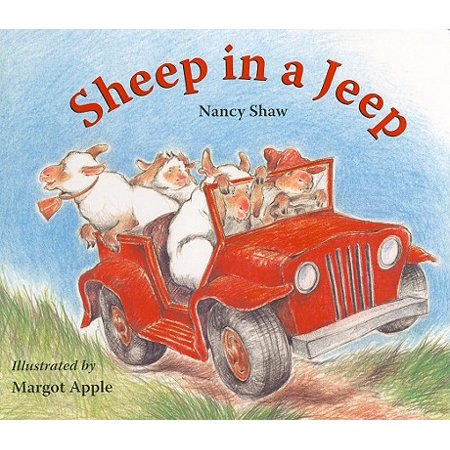 Sheep in a Jeep (Board Book) (Sheep Hides In Cave For 6 Years)