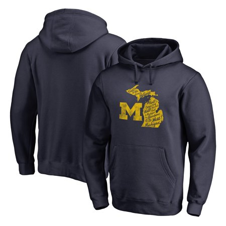 Michigan Wolverines Fanatics Branded Team Hometown Collection Pullover Hoodie -