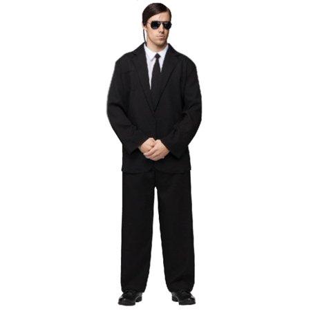 Secret Service Halloween Costume Ideas (Men In Black Secret Service Black Suit Costume)