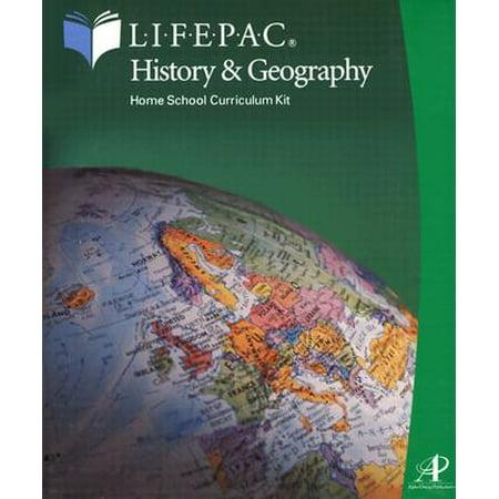 Lifepac-History & Geography Complete Set (Grade 10) Grade Lifepac History Unit
